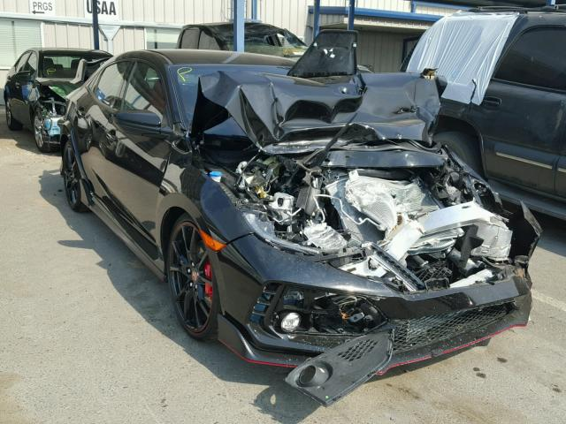 Wrecked Civic Type R
