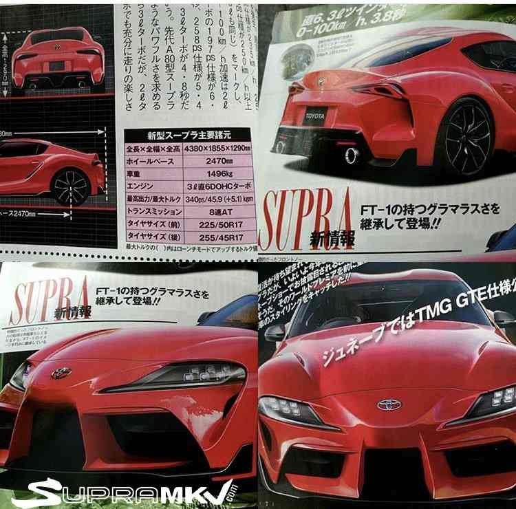 No, The New Toyota Supra Won't Have 335 HP