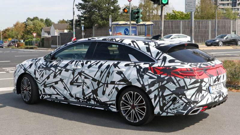 spy Kia Proceed GT