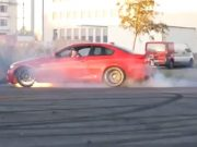 BMW E92 destroyed