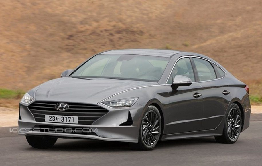 2020 Hyundai Sonata rendered