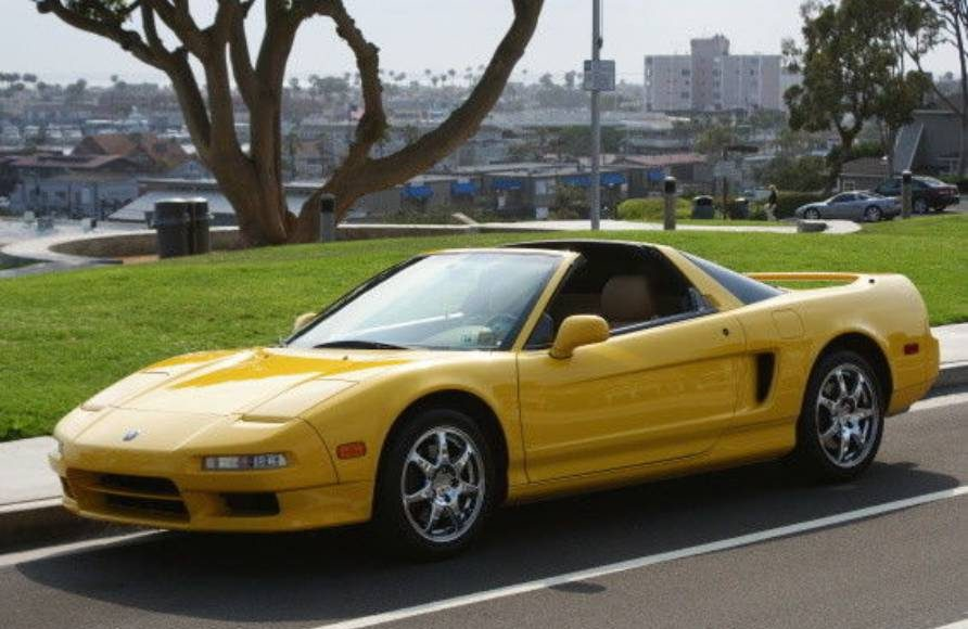 Spa Yellow NSX