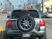 Cayenne spare tire carrier