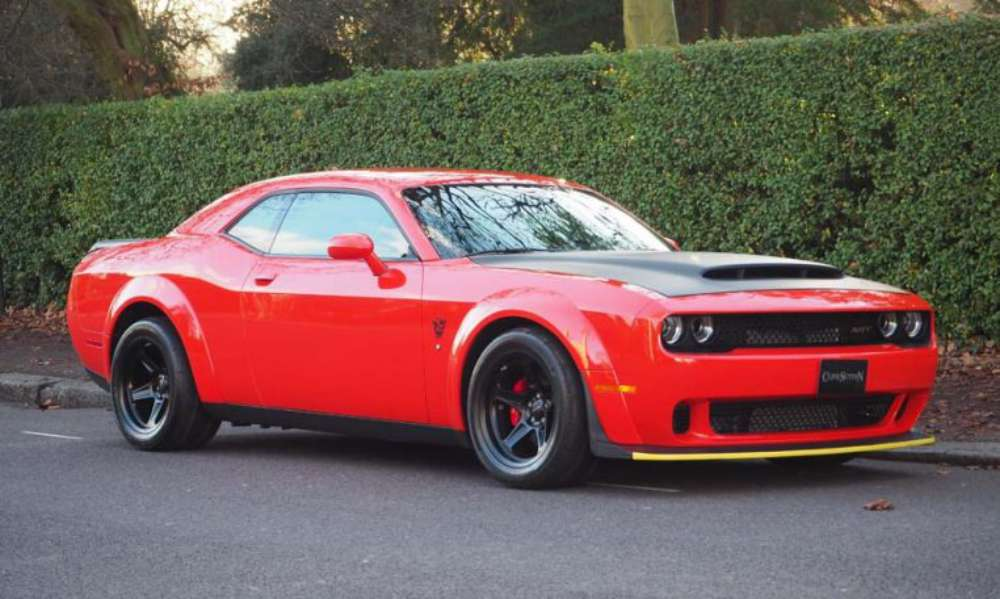 Dodge Demon UK