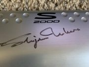 Honda S2000 cover signed