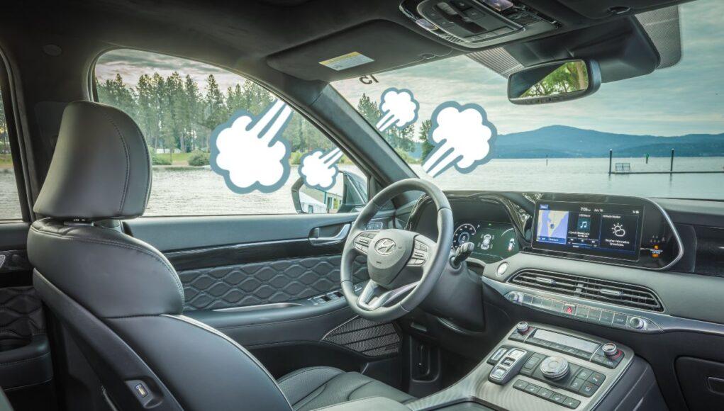 Hyundai Palisade wind noise