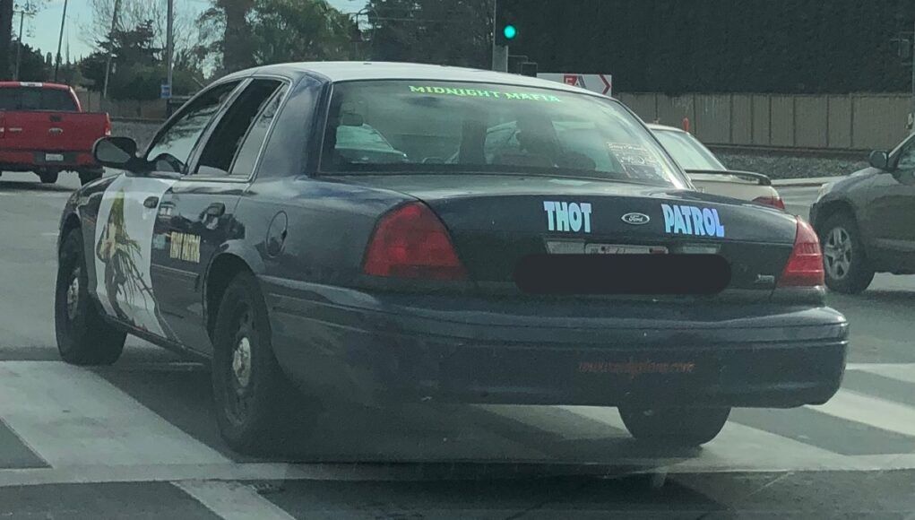 San Jose decommissioned police car is thot patrol