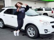 Avia Butler and her first car