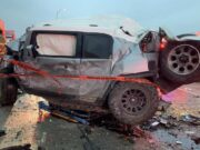 Paramedic in his Toyota FJ Cruiser survives I-35 wreck