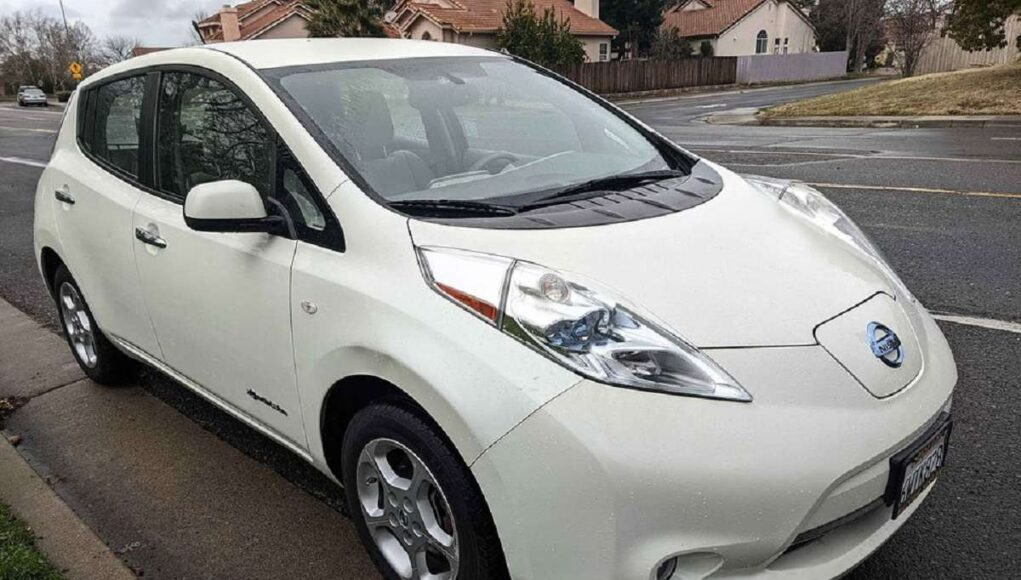 Cheap Nissan Leaf, this one's $2,000