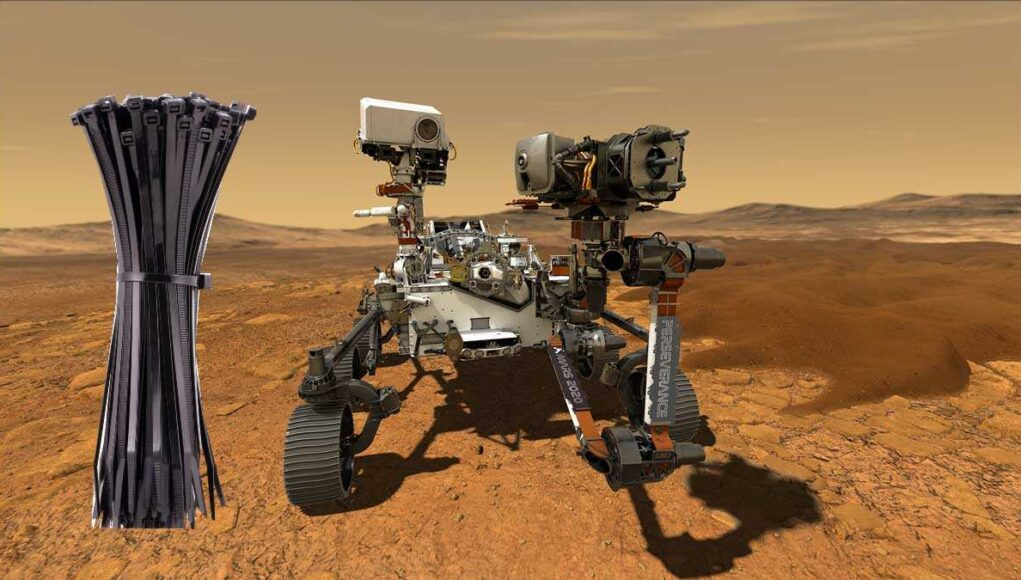Does the Mars Rover have zip ties