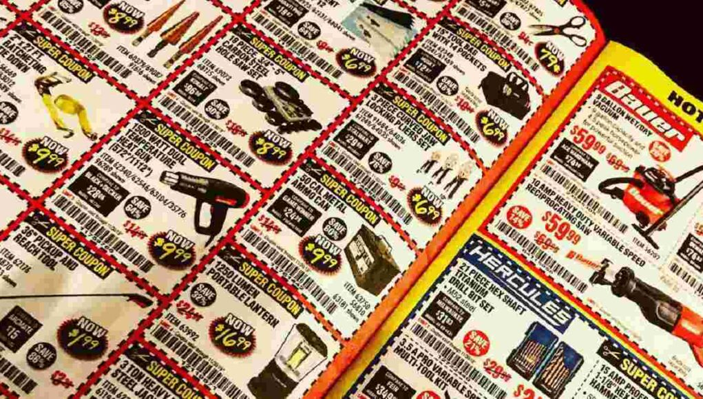 Harbor Freight ends mailer catalogs