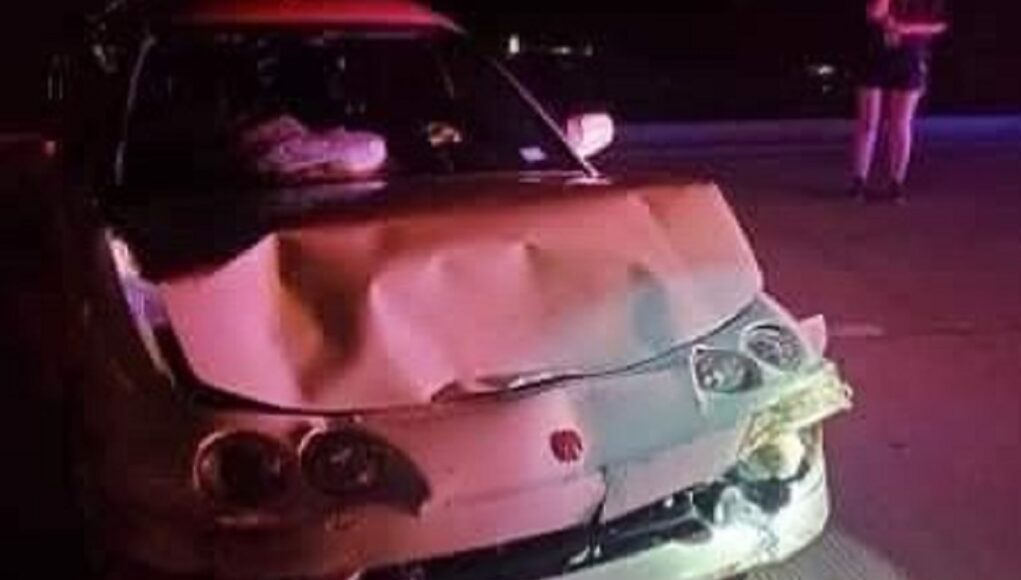 Acura Integra Type R wrecked hours after selling