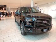 Ford F-150 parked in a mall