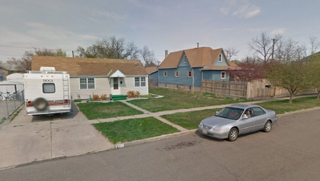Honda Accord parked in front of a North Platte, Nebraska home