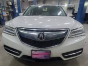 Acura MDX with world's highest mileage?