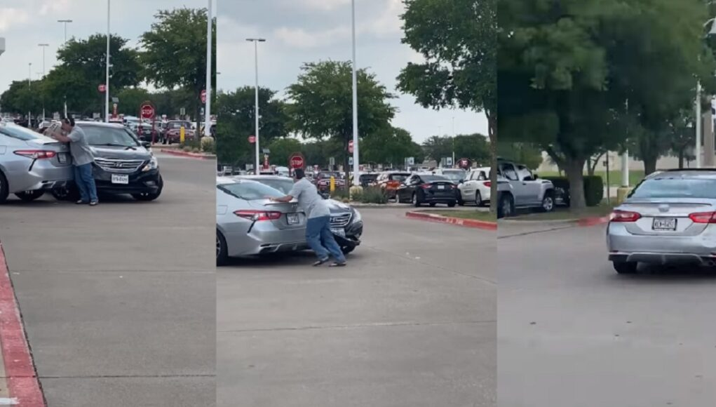 Camry driver hit and run in Frisco Texas at Target