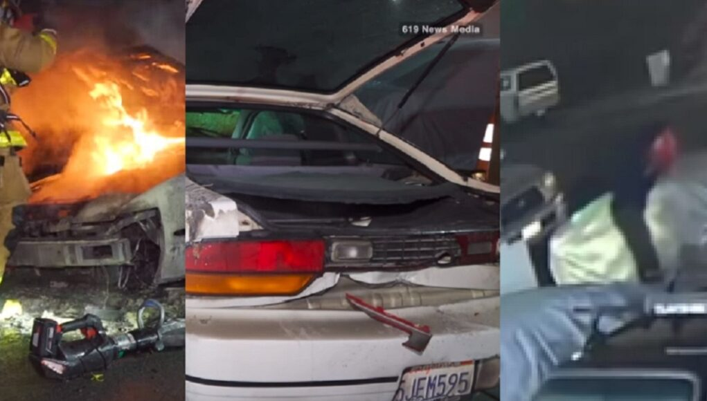 Nissan 240 owner says, Emmi Xi, brother's ex, burned his Nissan 240
