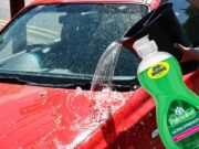 Washing your car with dish soap