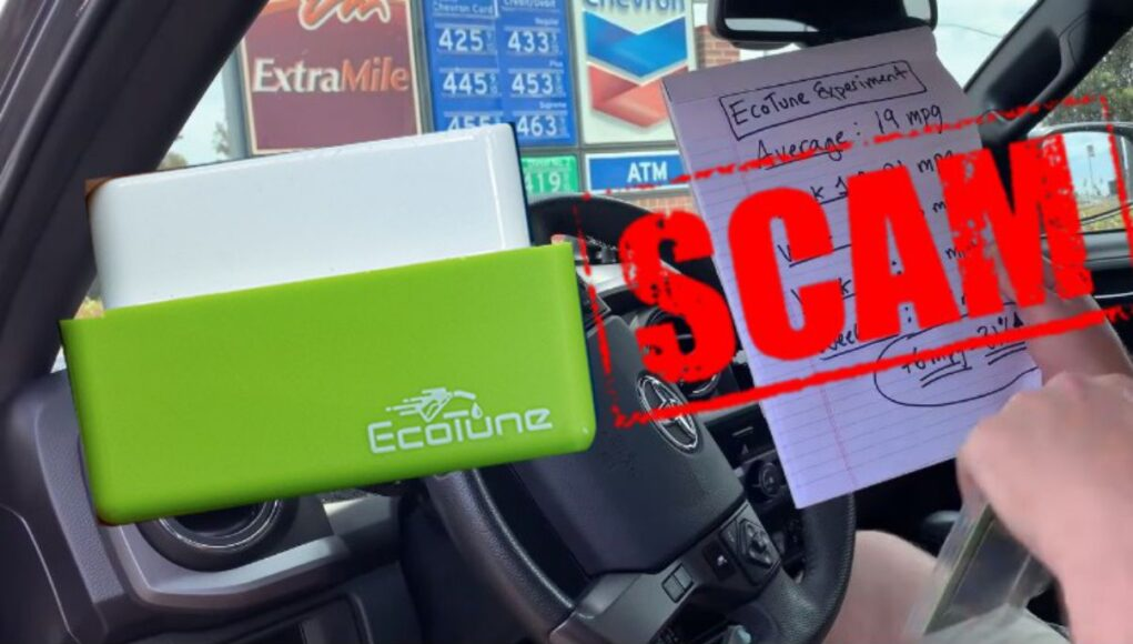 Does the Ecotune fuel saver work